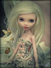 Opale (Trisquette) Tags: monster high ooak custom repaint draculaura ninakillyou