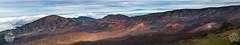 Haleakala crater Panorama, Maui Hawaii (brandon.vincent) Tags: panorama island volcano hawaii pacific cone maui haleakala crater mauna kea loa cinder