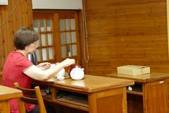 P1000415 (isobelannan) Tags: reading book yum tea ceremony class ntu greentea mammals oolong formosantea