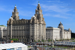 Liverpool 3 Graces (David Chennell - DavidC.Photography) Tags: liverpool threegraces liverbird pierhead liverbuilding 3graces portofliverpoolbuilding cunardbuilding titanicmemorial peelports