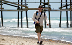 Me (Donald Palansky Photography) Tags: me donaldpalansky sony alpha beach sea ocean meandmycamera walking