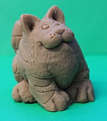 Fat Cat $3.00 (Clelian Heights) Tags: animals cat stripes soaps unscented decorativesoaps cleliansoaps