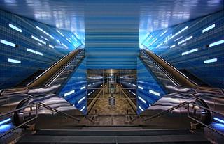 Hafencity Tube Station Hamburg