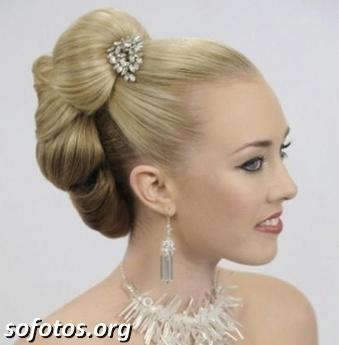 Penteados para noiva 009