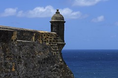 El Morro - Atlantic Face (rschnaible) Tags: world ocean park old castle heritage history architecture del puerto us site san juan el historic atlantic unesco rico national destination caribbean morro felipe castillo garita