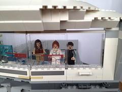 MOC Lego Iron Man 3 Hall of Armour with Lego Malibu Mansion Attack add-on (Ryan M Evans) Tags: 3 man hall iron lego attack ironman malibu tony mansion stark armour tonystark moc legomoc ironman3 malibumansion