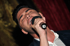 282 (Patrick Lentz Photography & Design) Tags: singing contest pride gaypride clubcafe harbortothebay patricklentzphotography queensvoice