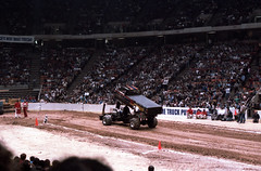 IMG_0056 (Nighthauler Photography) Tags: tractor cars truck pull meadowlands arena crushing bigfoot sled weight