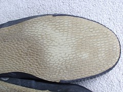 WORN SHOES/TRAINERS (stevsoll) Tags: sneakers trainers worn sole plimsolls daps plimsoles