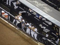 Yankee Stadium II, Bronx, NY (MattBritt00) Tags: nyc newyorkcity ny newyork rivalry sports al coach baseball stadium bronx borough manager yankees dugout yankeestadium ballpark yanks mlb americanleague bronxbombers majorleaguebaseball kevinyoukilis joegirardi