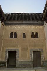 Facade of the Comares Palace (home_r) Tags: travel spain mosaic unesco alhambra moorish granada worldheritage nasrid zellij d3100