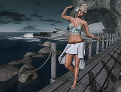 As The Waves Crash: Berry's Weird Questions Meme (Charisma Jonesford) Tags: summer fashion blog truth boom sl meme secondlife summerfest ikon belleza olivejuice redgrave slink bajanorte teefy gosboutique