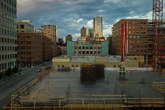 06-19-2013 (whlteXbread) Tags: 35mmf2 museumofcontemporaryart 2013 colorado construction dailies denver landscape m9 rooftop skyline spring summicron sunset faceit365:date=20130619