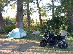 s3_camping (Off Axis Photo) Tags: speed triumph motorcycle s3 triple speedtriple