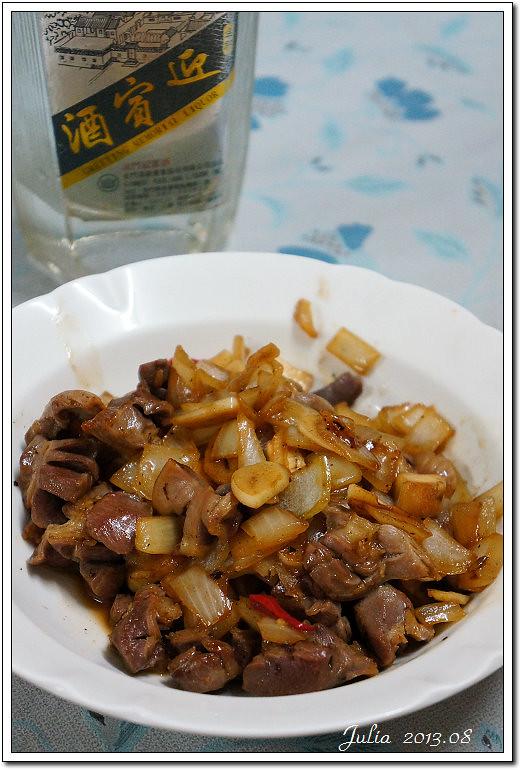 蒜炒雞胗 (7)