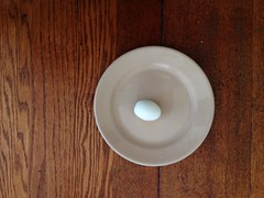 (kelly.grace) Tags: stilllife kitchen table farm egg plate iphone boiledegg kitchenstilllife farmstilllife uploaded:by=flickrmobile flickriosapp:filter=nofilter