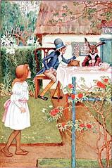Alice - Sowerby1907 _345 (biblioness) Tags: alice alicesadventuresinwonderland teaparty lewiscarroll millicentsowerby sowerby1907