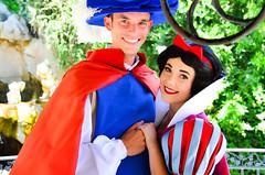 Snow White and the prince (EverythingDisney) Tags: couple princess disneyland royal prince disney snowwhite dlr theprince wishingwell snowprince