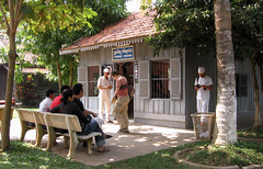 Immigration Office at VN Border_1379 (hkoons) Tags: water river flow asia cambodia southeastasia border vietnam government aquatic passport mekong waterway mekongriver