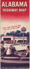 1950s Pan-Am road map (biff53) Tags: advertising roadmap standardoilofindiana panamgasoline