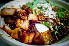 Chego Chubby Pork Belly (I am a potato) Tags: los chinatown angeles bowl