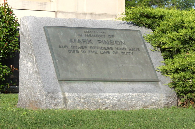 Memorial to Mark Pinson