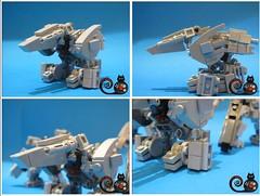 RF-1 KAI SIRIUS (THE CAT WORKER) Tags: lego military scifi mech moc