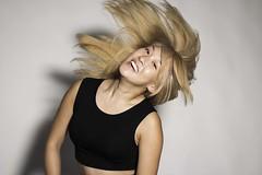 IMG_3105 (StephanieTran.) Tags: toronto ontario canada fashion female studio asian photography model blonde blondehair hairflip croptop 2013