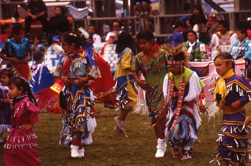 Photo from Powwow Summer by Marcie Rendon with photos by Cheryl Walsh Bellville