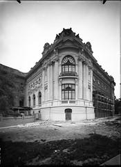 El Museo de Bellas Artes en construccion. (santiagonostalgico) Tags: chile obra patrimonio archivofotograficodirecciondearquitectura