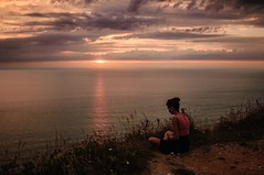 (jaimepaslart) Tags: trip girls friends sunset sea summer vacation sky sun holiday france art love beach girl fashion clouds vintage photography soleil photo nikon europe peace hipster hippy atmosphere silence indie 20mm nikkor chill bohemian