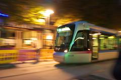 Tramway (eraggi) Tags: lumix nightshot panasonic tramway 1442 sooc gf3 effetfil