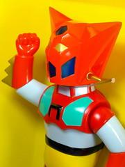 Masudaya – Vintage Reprint – Talking Getter Robo (ゲッターロボ) – Close Up (My Toy Museum) Tags: vintage talking robo reprint getter masudaya