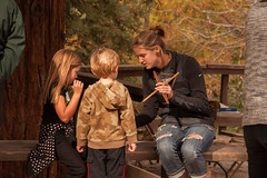 Arboretum Ambassadors and naturalists creatively engage visitors of all ages in the beauty and value of plants and wildlife. (UC Davis Arboretum & Public Garden) Tags: family public by garden children student community native arboretum story acorn american learning leader uc ambassador davis leading leadership ucd storytime enivronment