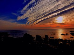 (cotter.t) Tags: ocean sunset sun rocks waves pacific dramatic cambria tidal