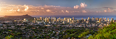 Wake Up Honolulu (mojo2u) Tags: morning skyline sunrise hawaii oahu diamondhead honolulu nikon2470mm nikond800
