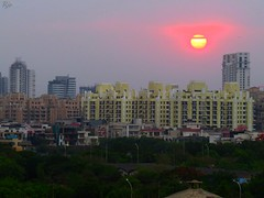 1IMG_3788 MORNING SUN IN NOIDA INDIA (Rajeev India (THANKS for views, comments n faves)) Tags: morning sun noida india in