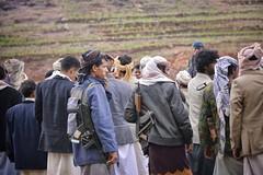 Could Be Trouble, Yemen (Rod Waddington) Tags: gun tribal problem trouble yemen tribe ak47 disagreement yemeni