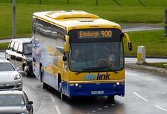 53107 - SP08 FUV (Cammies Transport Photography) Tags: bus volvo coach edinburgh glasgow roundabout scottish panther newbridge 900 stagecoach citylink plaxton 53107 sp08fuv