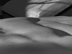 A Question of Balance — Winter 2014 (Paul Henegan) Tags: winter snow monochrome rooftops taijitu