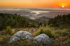 West Coast Sunset (alicecahill) Tags: california ca sunset usa nature landscape evening scenic marincounty westcoast tomalesbay pointreyesnationalseashore edgeofnight alicecahill