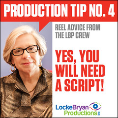 Production Tip #4: Yes, you will need a script! No, we wont shoot it and see what evolves. (Locke Bryan Productions) Tags: tv video texas houston commercial editing script lbp productioncompany lockebryanproductions productiontips reeladvice