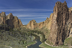 Smith Rock (Joshua Johnston Photography) Tags: oregon centraloregon canon hiking climbing highdesert smithrock hikingoregon canon60d canon24mm28is