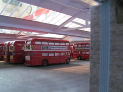 Brixton garage diorama construction (kingsway john) Tags: brixton bus garage london transport model diorama 176 scale londontransportmodel oo gauge miniature