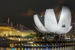 Coloured Lights (CheongChenWei) Tags: night zeiss singapore sony marinabay nex6 touit1832