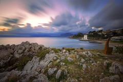 Alba Sant'elia (Ricky92f) Tags: seascape sunrise canon landscape long exposure alba sigma palermo 1020 sicilia frisco riccardo haida santelia mongerbino 550d nd1000