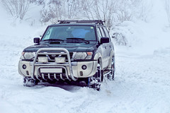 Nissan Patrol (Luky Rych) Tags: nissan patrol car automotive winter snow 4x4 100d 50mm worldcars