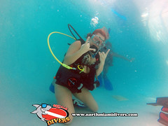 Learning to Scuba Dive-Feb 2015-15 (Squalo Divers) Tags: usa divers florida miami scuba diving learning padi squalo
