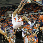 Wake Forest at Clemson Photos