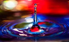 Water colors (Carlos Server Photography) Tags: color macro water agua drop gota